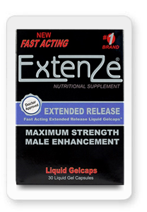 Extenze Black Bottle