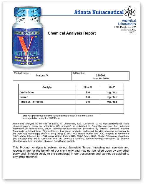 Natural V Lab Report