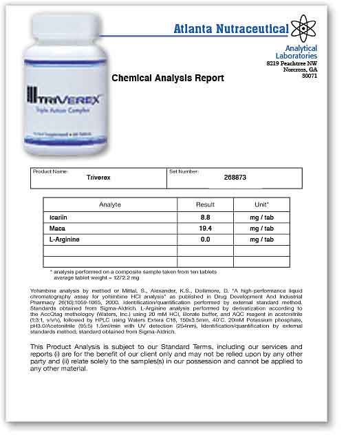 Triverex Lab Report